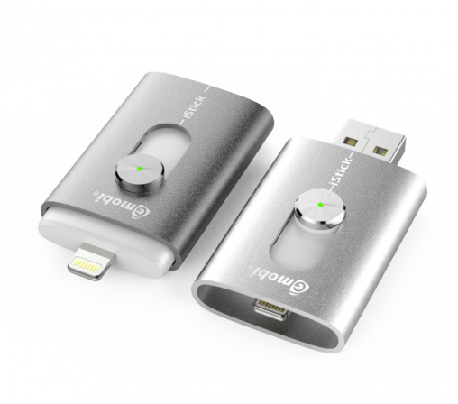 iStick is a convenient device for connecting Macs and PCs to iDevices.