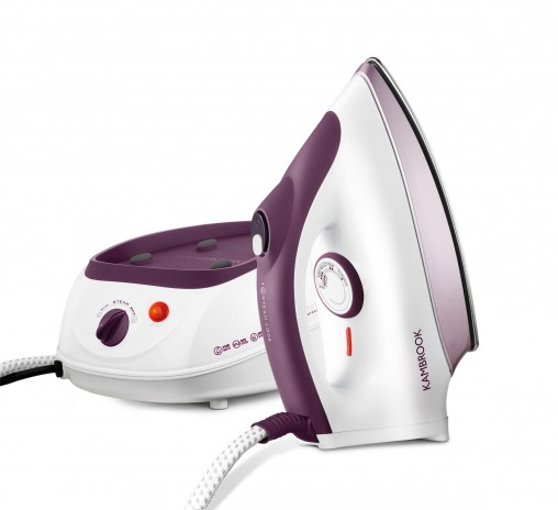 The Kambrook SteamStation (KSS70, RRP $99.95) is a good entry-level option for customers who want to trade up from a traditional iron for longer sessions of batch ironing and, thanks to its 800-millilitre tank, there's less refilling.