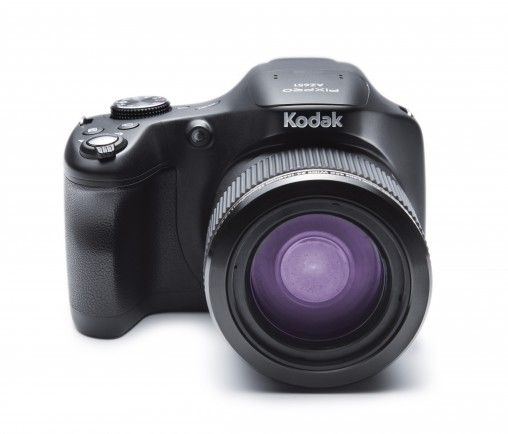 Kodak PixPro Astro Zoom (AZ651) This new fixed lens Kodak camera has a 20-megapixel CMOS sensor and an enormous 65x optical zoom, along with Wi-Fi, making it great for taking and sharing long shots and extreme close-ups. (RRP $449)