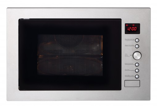 The 32-litre Blanco convection microwave (BM32CX, RRP $599) can cook 10 family favourites, including fish, roast chicken and pizza, using its pre-programmed auto-cook options.