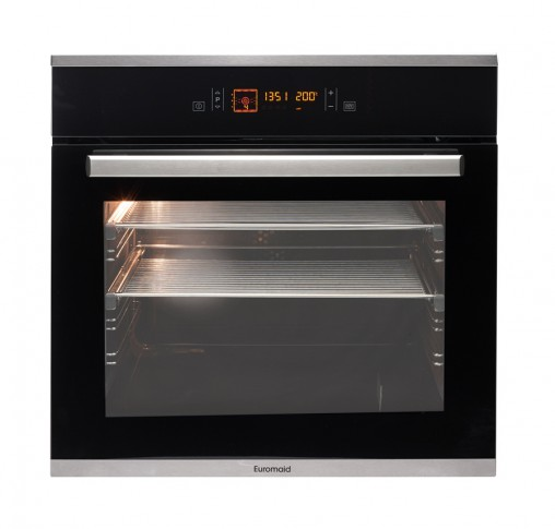 Euromaid Black Pearl Series Touch Control Pyrolytic Oven (ETP12)
