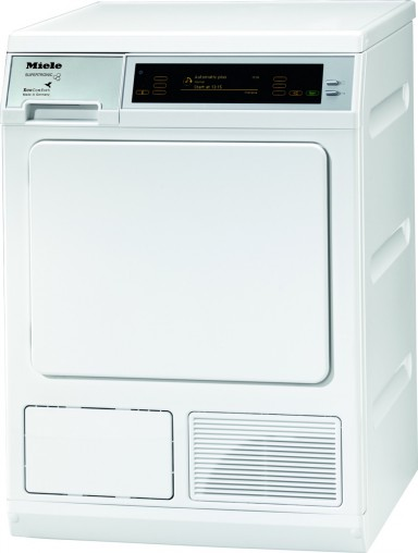 German engineered and tested to the equivalent of 20 years usage: Miele T 8001 WP Supertronic Heat Pump Dryer (RRP $4,199).