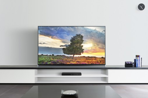 "Panasonic 65-inch 4K LED LCD Smart TV (65AX800) ""The new Life+ Screen range is designed for the modern, hyper-connected household where multiple content sources are standard and second-screening is second nature,"" said Panasonic's Maetham Roomi. RRP $5,999"