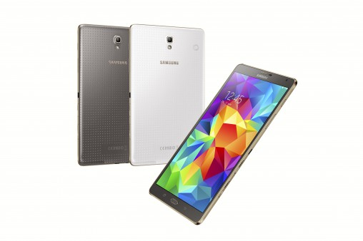 Samsung Galaxy Tab S 8.4 The star of the new Samsung Galaxy Tab S range is the iridescent Super AMOLED screen, which is impressively bright, while the light form factor means you can take it anywhere with ease. Available in Wi-Fi and 4G options. RRP from $479