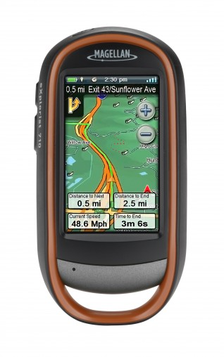 The eXplorist 710 (RRP $579) from Magellan is a handheld GPS device that can also be used in the car. Users can view and record their journey with a sequence of digital breadcrumbs to make sure they can always get back to where they started.