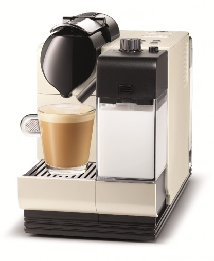 The limited edition Pearl White Nespresso Lattissima+, distributed by De'Longhi,(RRP $579) is a one-touch milk solution for cappuccinos, lattes and flat whites featuring a removable milk container for storage in the fridge.