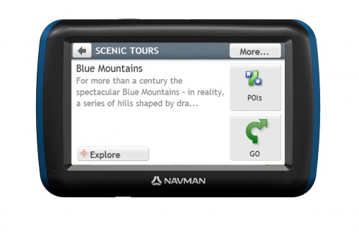 Navman's MY Escape II GPS (RRP $299) is ideal for holidaymakers with bonus features such as reviews of places to eat and stay from the Australian Good Food Guide.