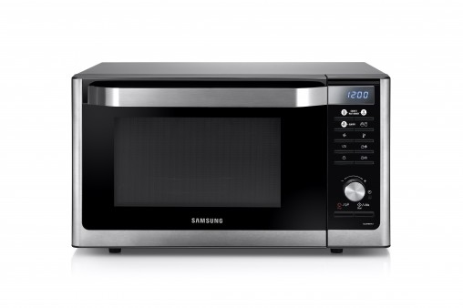 The Samsung 32-litre convection microwave (MC32F6C6TCT, RRP $699) is a microwave, grill and convection oven with the ability to help create homemade yoghurt and rise dough with its fermentation function.