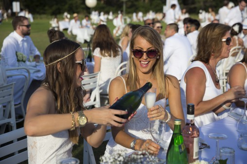 There is an element of exclusivity to the event; guests must be invited by a member from the previous year or join the waiting list.