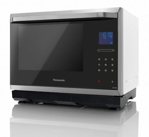 Roast, bake, stream and grill with Panasonic's new combi microwave oven.