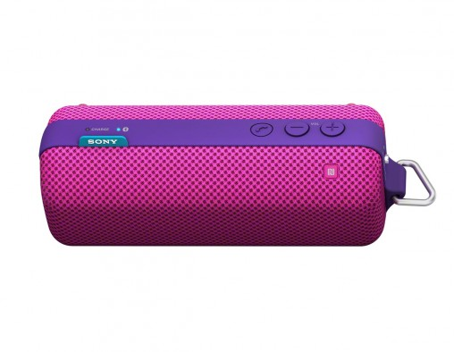 Sony pink and purple offering is great for listening to bubblegum pop.