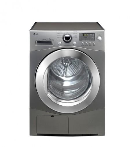 LG 8-kilogram Condenser Dryer in Stone Silver Finish (RRP $1,279).
