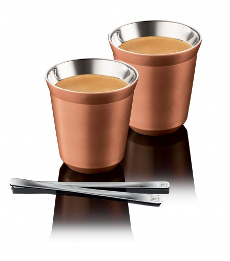 Nespresso has also released a complementary Bukeela Pixie Cup set.