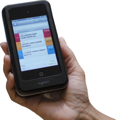 AdvanceRetail mobile POS system