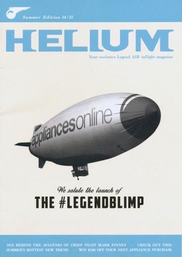 Helium 'your exclusive Legend AIR inflight magazine'