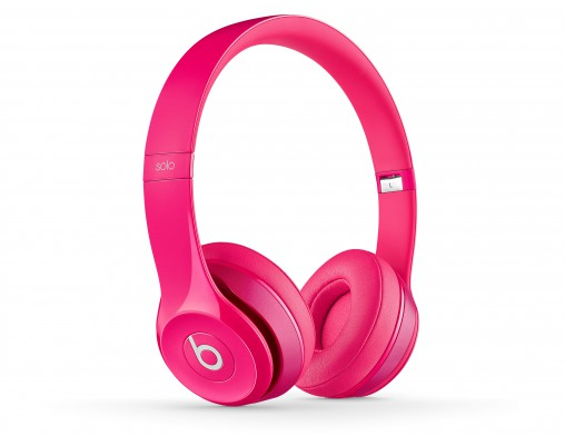 The new Beats Solo2 in pink.